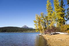 Lake of the Woods, Oregon (icetsarina) Tags: oregon fall autumn leaves foliage lake lakeofthewoods
