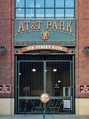 AT&T Park 2nd Street Gate, San Francisco, CA (willbuckner) Tags: 2ndandking 2ndstreet 24williemaysplaza 94107 att attpark awaygame ballpark baseball baseballseason bases basesloaded bayarea beer budweiser ca california chinabasin citybythebay coorslight dugout entrancegate equipment firstbase gametime gate giants giantslogo homegame homeofthegiants homeofthesanfranciscogiants homerun hometeam inning kingst kingstreet loss majorleague majorleaguebaseball mlb mlbballpark noreentryaftergametime preseason sanfrancisco sanfranciscobayarea sanfranciscogiants score season secondandking secondbase secondstreet secondstreetandkingstreet sf sfgiants sfc sfo siliconvalley soma southbeach southpark sportsbusinessjournal stadium thirdbase tickets williemays williemaysplaza worldseries sports professional professionalsports probaseball professionalbaseball nationalleague nlwest
