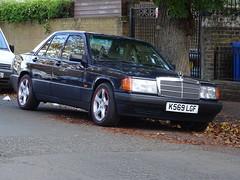 1992 Mercedes Benz 190E Auto (Neil's classics) Tags: vehicle 1992 mercedes benz 190e w201