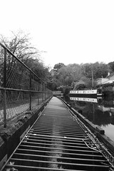 Canalside at Hagg Bank, Disley.   (Peak Forest Canal) October 2018 (dave_attrill) Tags: peakforest canal disley haggbanklane haggbank towpath peakdistrict cheshire october 2018 black white blackwhite monochrome