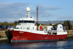 Ronja Skye - Greenock - 22-09-18 (MarkP51) Tags: ronjaskye jameswattdock greenock scotland fishcarrier ship boat vessel maritimephotography sunshine sunny nikon d7200 nikon24120f4vr