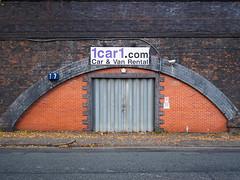 Seven (Peter.Bartlett) Tags: manchester olympusomdem5 unitedkingdom city doorway colour peterbartlett shutter urban uk m43 microfourthirds wall urbanarte sign lunaphoto facade door england gb