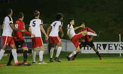 Lewes 2 Kings Langley 1 FAC replay 26 09 2018-112.jpg (jamesboyes) Tags: lewes kingslangley football nonleague soccer fussball calcio voetbal amateur facup tackle pitch canon 70d dslr