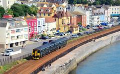 150202. (curly42) Tags: 150202 class150 sprinter gwr 1502 dmu unit railway transport travel dawlish seaside sea alltypesoftransport