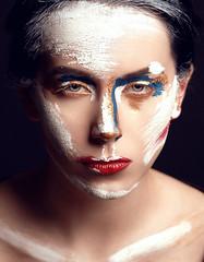 Ksenia (TRUE.panda) Tags: za zeiss carlzeiss sony sonnart18135 a99 model models modeling makeup studio saintpetersburg spb statestars statesbp beauty beautyshot people posing sonnar 135mm