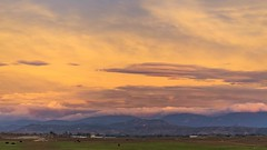 Ramona Grasslands Clouds, Cattle, and Colors Sunset Timelapse (slworking2) Tags: ramona california sandiego sunset timelapse sky weather clouds