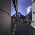 Reflection in Scuol - Graubünden - Switzerland thumbnail