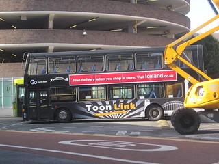 Go North East 6124 (GX03 SUU). Eldon Square Bus Station, Newcastle