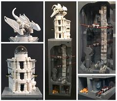 Brothers Brick Harry Potter Micro Contest - Small Category Entry (richardvanas1) Tags: lego harry potter gringotts diagon alley ukrainian iron belly vaults micro moc