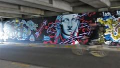 KUU & Kymo One / Ter Platen - 9 sep 2018 (Ferdinand 'Ferre' Feys) Tags: gent ghent gand belgium belgique belgië streetart artdelarue graffitiart graffiti graff urbanart urbanarte arteurbano ferdinandfeys kymoone