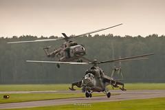 Mi-24 & Mi171 CZECH AIRFORCE (Michał Stolarski) Tags: airshow radom 2018 rdo epra mi24 mi17 czech airforce