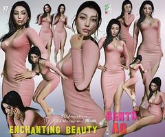 Tuty - ENCHANTING BEAUTY bento AO (TUTY Bento Animations) Tags: ao bento animations anim second life tuty mocap motion capture fingers sexy woman