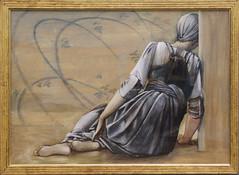 Edward Burne-Jones - Study for The Garden Court 2 (ahisgett) Tags: birmingham preraphaelite museum art