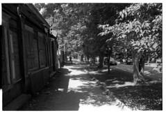 Old street (*Irshat*) Tags: pan400 ilfordpan400 ilford bwfilm analog analogphotography rangefinder nikons2 nikonrangefinder wnikkor 35mmlens