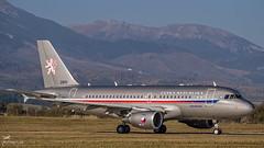 2801 Czech Air Force Airbus A319-115(CJ) (airliners.sk, o.z.) Tags: airport poprad tatry popradtatry lztt tat lztttat airplane airbus a319 a319115cj czechairforce government airlinerssk
