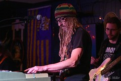 Jerry Beach Monday Night Jam at the Tiki Bar & Grill - 10-8-2018 (David Miller, photographer) Tags: theblues latenight jam rockandroll rb funk jazz electricguitar electricbass guitar guitarist bass keyboard drums vocalist vocalists singer singers livemusicalperformance liveperformance music musician musicians