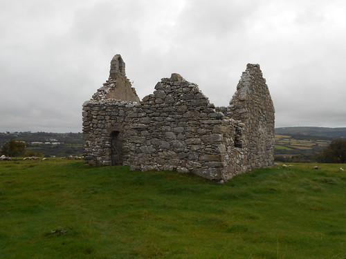 Hen Capel Lligwy, Anglesey. The chapel from the southeast.