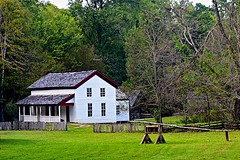 Cades Cove Cable House in Tennessee (durand clark) Tags: cadescove smokeymountains greatsmokeymountainsnationalpark gatlinburg pigeonforge tennessee nikond750 cablehouseatcadescove greggcablehouse cadescoveloop cablemill