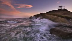 Sunrise at the Ocean. (Sveta Imnadze) Tags: sunrise oregoncoast capekiwanda pacificcity