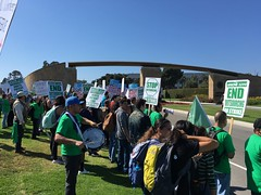 AFSCME Strike @ UCSB 3