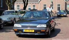 Renault 25 V6 automatic 1990 (XBXG) Tags: yt74st renault 25 v6 automatic 1990 renault25 r25 prv bva automatique la fête des limousines 2018 fort isabella reutsedijk vught nederland holland netherlands paysbas emw elk merk waardig youngtimer old classic french car auto automobile voiture ancienne française vehicle outdoor