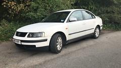 (Sam Tait) Tags: 1998 diesel turbo tdi se car retro saloon white b5 passat volkswagen