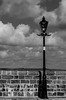Tenby Pier B&W