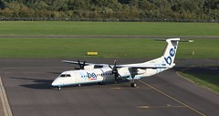 G-ECOJ FlyBe DHC-8 Q400  SOU 210918 (kitmasterbloke) Tags: sou southampton aircraft aviation airliner transport hampshire outdoor