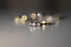 Diamond Ring (Mikon Walters) Tags: nikon d5600 sigma 105mm macro photography product diamonds diamond ring gold bokeh jewllery jewelry sparkly colourful coloured close up engagement england britain uk