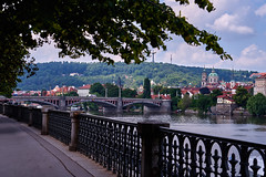 A City by the River (AgarwalArun) Tags: sonya7m2 sonyilce7m2 sony landscape scenic nature views europe centraleurope czeckrepublic prague river vltava moldau