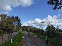 Bilston Bound (Brian Cairns) Tags: susrans roslin bonnyrigg lasswade cycling rosslyn newcyclepath danderhall dalkeith brianbcairns irreverence levity serendipity