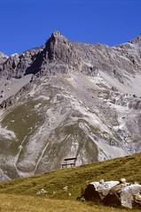 Villar d'Arêne (Hautes-Alpes) (Cletus Awreetus) Tags: france alpes hautesalpes ecrins montagne paysage oisans été banc lautaret villardarêne