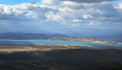 Antiparos (orientalizing) Tags: aegean antiparos coast cyclades greece islands landscape mountain mtmarpessos paros seascape