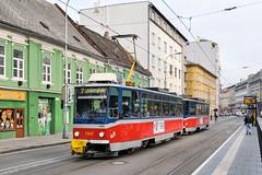 BTS_7947_201811 (Tram Photos) Tags: ckd tatra t6a5 bratislava dopravnýpodnikbratislava dpb strasenbahn tram tramway električková mhd električka