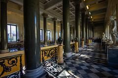 Corridor II, Hermitage, 20180920 (G · RTM) Tags: hermitage winter palace saintpetersburg corridor marble statue