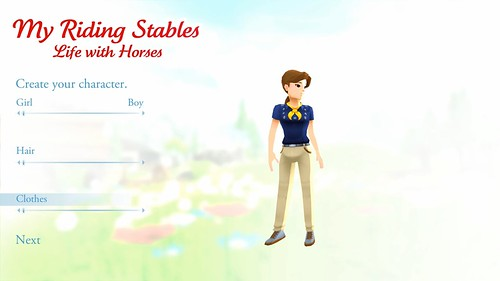 My Riding Stables - Life with Horses Character Creation