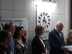 26/09/18 - Visita a Associação dos Comissários de Polícia do RS (ACP/RS). Recepcionada pelos comissários Mello, Beatriz, Chicão e Adroaldo.