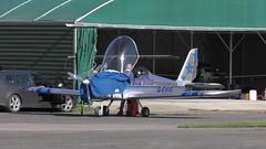 G-EVIG, 2007, Evektor EV-97 EuroStar (bertie's world) Tags: aircraft wickenby aerodrome airfield uk lincolnshire gevig 2007 evektor ev97 eurostar