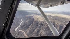 Heading East _ Crand Canyon (Bastien Rogy) Tags: c162 cessna california landing aircraft airport skyview landscap paysage airtrip grand canyon temple bar arizona