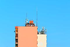 Kapcsolat (agnes.mezosi) Tags: minimalism architecture colorful geometry blue