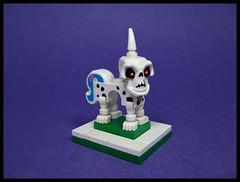 A Unicorn (Karf Oohlu) Tags: lego moc silly unicorn uniquehorn skull wtf