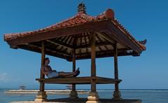 Paradise (tomaszbaranowski007) Tags: meditation holidays sun light water paradise beach indonesia sanur bali