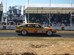 Rover SD1 Vitesse (BenGPhotos) Tags: twrgroupa 2018 goodwood festivalofspeed fos race racing sports motorsport car show event yellow red 1983 rover sd1 vitesse twr groupa touring