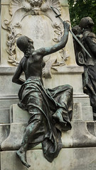 An Impact (dayman1776) Tags: beautiful sony a6000 sculpture escultura statue skulptur nude female girl woman figurative art form body bronze sword washington dc