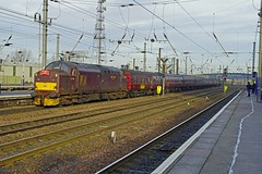 1Z23 07:20 CARNFORTH - 13:56 CLEETHORPES running on 23/01/2016 (SIMON A W BEESTON) Tags: doncaster ecml eastcoastmainline 37706 1z23 wcrc westcoastrailwaycompany