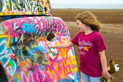 Epic Road Trip 2018_799-800 (mocajomiso) Tags: 18200mm 2018 amarillotexas cadillacranch crosscontryroadtrip d3100 nikon nikond3100 sophie tamron tamron18200 texas roadtrip trip vacation