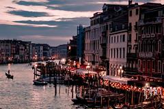 DSC05397 (Black_wolf_ph) Tags: venezia light venice italy canal canalgrande bluehour sunset