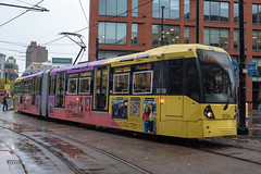 Manchester Metrolink 3058 (Mike McNiven) Tags: manchester metrolink tram lrv metro lightrail piccadilly bury auytonstreet victoria catchthemoment tfgm transport greatermanchester instagram