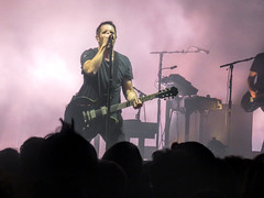 Nine Inch Nails - The Anthem DC (dckellyphoto) Tags: nineinchnails trentreznor nin theanthem dc washingtondc districtofcolumbia concert show band industrial man pink guitar sing microphone