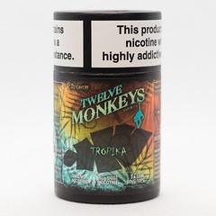 TWELVE MONKEYS - TROPIKA - 6x10ML - E-LIQUID (VAPEPRODUCTPHOTOS) Tags: eliquid vape vaping vapour oxford twelve monkeys twelvemonkeys 10ml 3mg box pg vg 500px tpd high